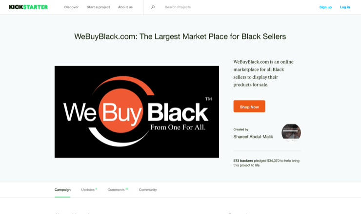 WeBuyBlack.com