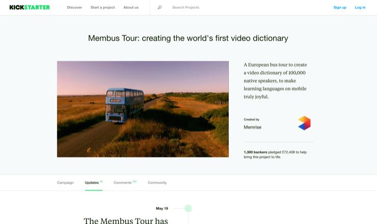 Membus Tour